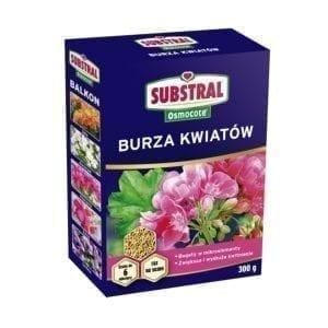 SUBSTRAL OSMOCOTE BURZA KWIATÓW 300G
